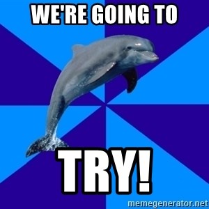 Drama Dolphin - We're going to Try!