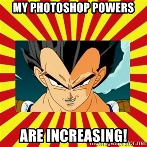 Dragon Ball Z - my photoshop powers are increasing!