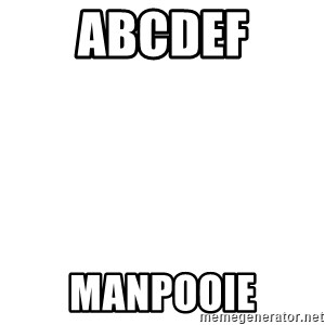 Blank Template - abcdef manpooie