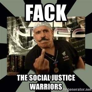 Iron Sheik - FACK THE SOCIAL JUSTICE WARRIORS
