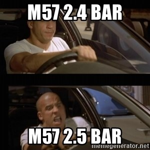 Vin Diesel Car - M57 2.4 bar M57 2.5 bar