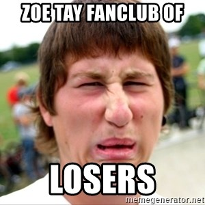 Disgusted Nigel - zoe tay fanclub of losers