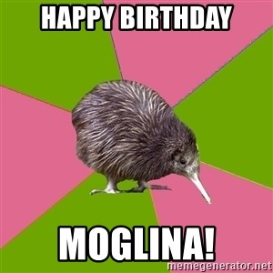 Choir Kiwi - Happy Birthday moglina!