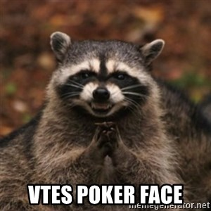 evil raccoon -  vtes poker face