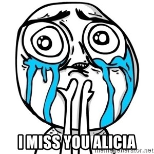 CuteGuy -  I miss you alicia