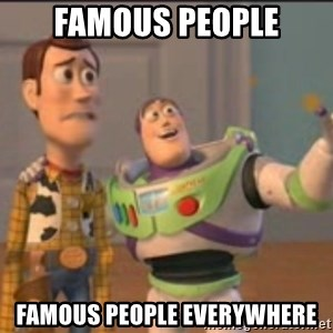 X, X Everywhere  - Famous People Famous People Everywhere