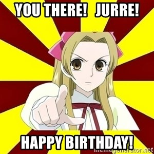 Typical Cosplayer - You there!   Jurre! Happy birthday!