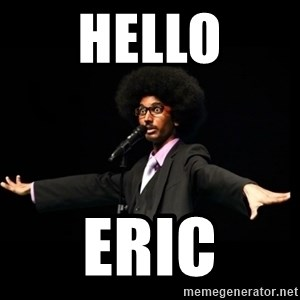 AFRO Knows - hello eric