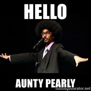 AFRO Knows - hello aunty pearly