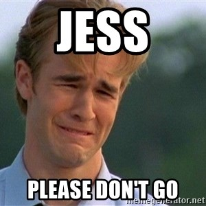Crying Man - Jess Please don't go