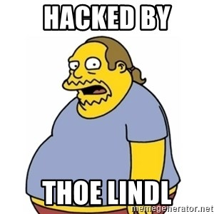 Comic Book Guy Worst Ever - hacked by Thoe Lindl