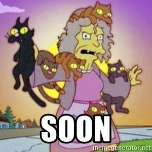 Crazy Cat Lady -  Soon