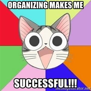 Nya Typical Anime Fans  - Organizing Makes Me Successful!!!