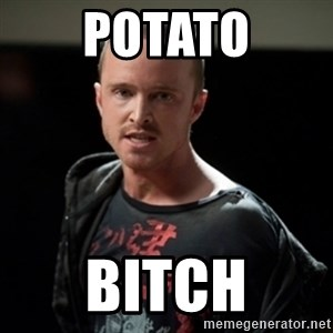 Jesse Pinkman says Bitch - potato bitch