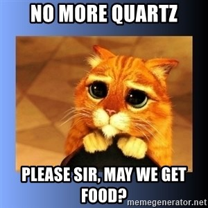 puss in boots eyes 2 - No More Quartz Please Sir, May we get Food?