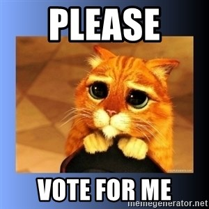 puss in boots eyes 2 - Please  Vote for me