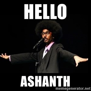 AFRO Knows - Hello Ashanth