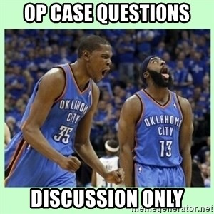 durant harden - OP Case Questions Discussion Only
