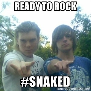 god of punk rock - ready to rock #snaked