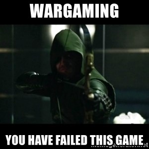YOU HAVE FAILED THIS CITY - Wargaming You have failed this game
