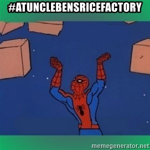 60's spiderman - #AtUncleBensRiceFactory