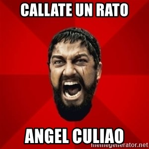 THIS IS SPARTAAA!!11!1 - CALLATE un rato angel culiao