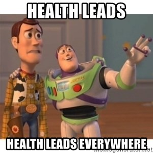 Toy story - Health leads health leads everywhere