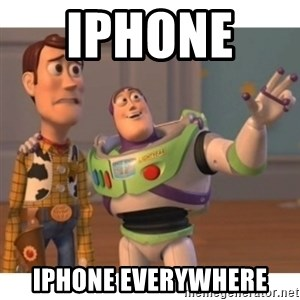 Toy story - Iphone   Iphone everywhere