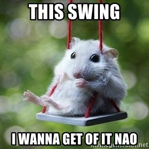 Sorry I'm not Sorry - this swing i wanna get of it nao