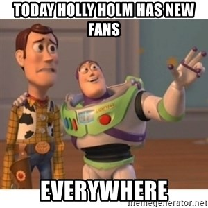 Toy story - today holly holm has new fans everywhere