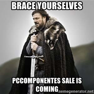 ned stark as the doctor - BRACE YOURSELVES PCCOMPONENTES SALE IS COMING