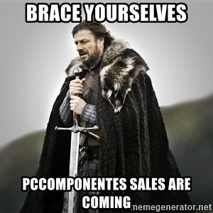 ned stark as the doctor - BRACE YOURSELVES PCCOMPONENTES SALES ARE COMING