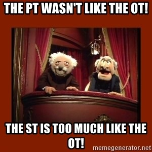 Muppet Critics - The PT wasn't like the OT! The ST is too much like the OT!