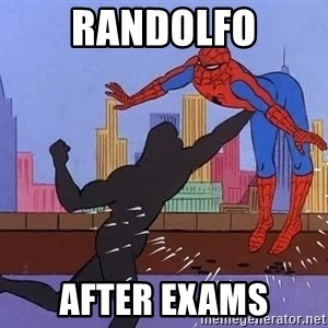 crotch punch spiderman - Randolfo After exams