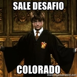 Harry Potter Come At Me Bro - sale desafio colorado
