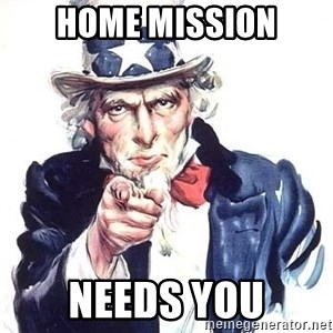 Uncle Sam - hOME mission needs you