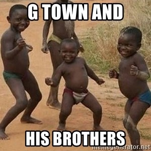 Dancing african boy - G Town and  His brothers