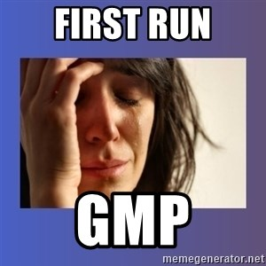 woman crying - First Run GMP