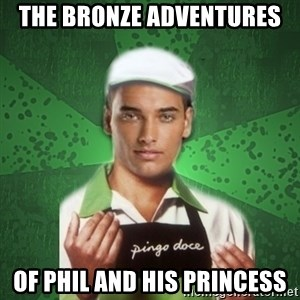 Caixas SS3 - the bronze adventures of phil and his princess