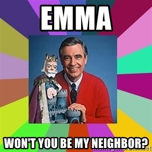 mr rogers  - EMMA Won't You Be My Neighbor?