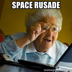 Internet Grandma Surprise - SPACE RUSADE
