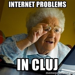 Internet Grandma Surprise - Internet Problems in cluj