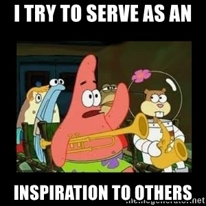 Patrick Star Instrument - i try to serve as an  inspiration to others
