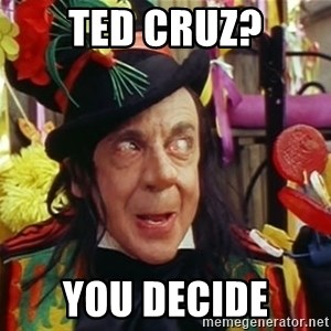 Child catcher - Ted Cruz? You Decide