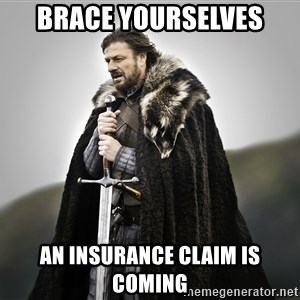 ned stark as the doctor - BRACE YOURSELVES AN INSURANCE CLAIM IS COMING