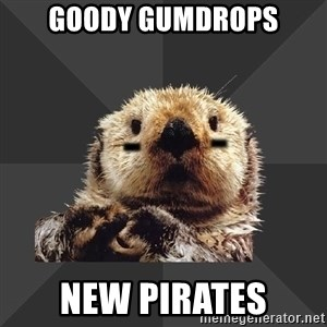 Roller Derby Otter - goody gumdrops new pirates
