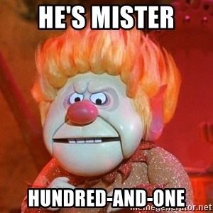 Heat Miser - he's mister hundred-and-one