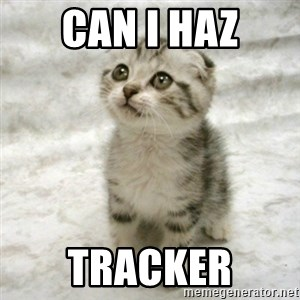 Can haz cat - can i haz tracker