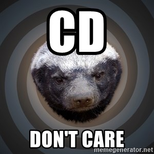 Fearless Honeybadger - CD DON'T CARE
