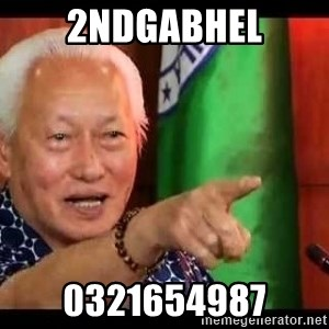 Mayor Lim Meme - 2ndgabhel 0321654987